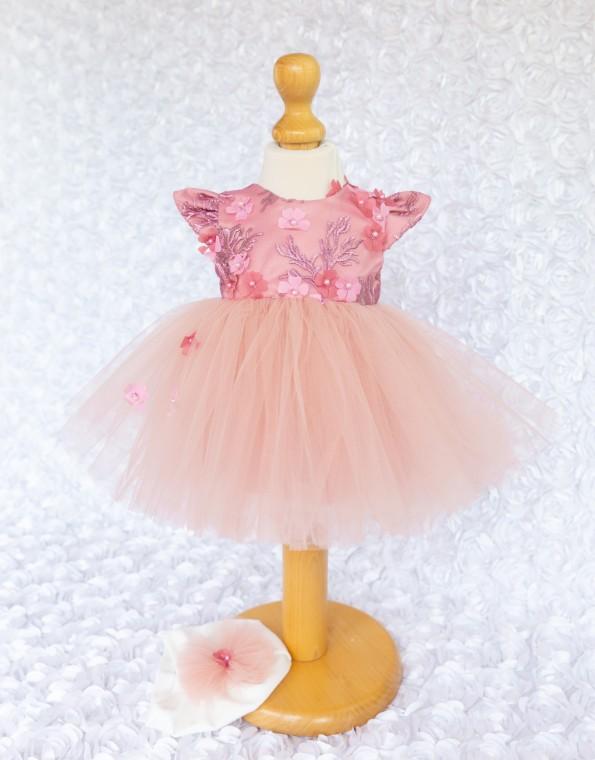 Rochita  botez Otilia roz prafuit