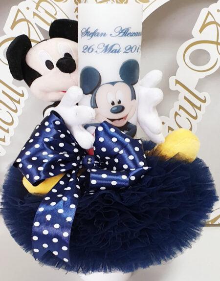 lumanare de botez mickey mousey