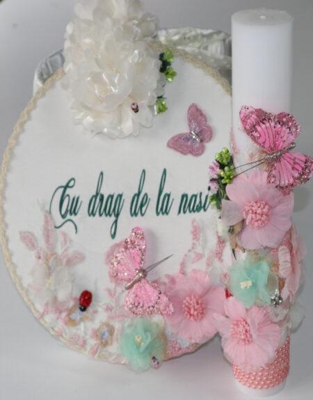 Cufar botez flori minunate