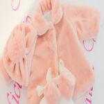 Paltonas botez din blanita roz