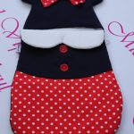 Port bebe minnie mouse rosu