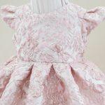 Rochita botez Trandafir roz praf